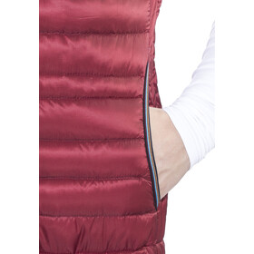 Elevenate Rapide Vest Herrer, beetroot red